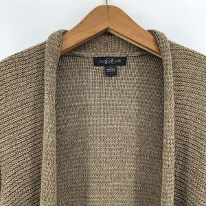 august silk Sweaters - August Silk | Knit Open Front Cardigan